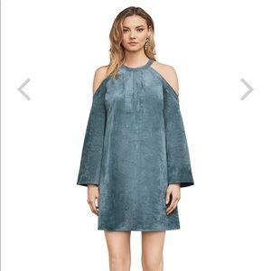 "BCBGMAXAZRIA - new - faux suede dress - ""Laguna"""